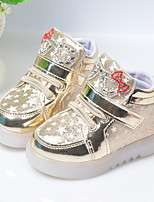 Girl's Sneakers Spring Summer Fall Microfibre Casual Wedge Heel Others Red Silver Gold Others