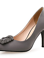 Women's Heels / Styles / Pointed Toe Silk / Glitter Wedding / Party & Evening / Dress Stiletto HeelSequin