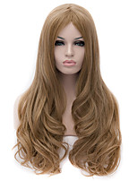 New High Quality Lace Hairnet Blond Curly Wig