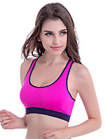 Women's Fashion Sexy Sports Bras Wireless Push Up Padded Underwear Fitness Running Tops