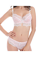 Full Coverage Bras & Panties SetsLace Bras Nylon