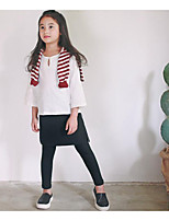 Girl's Casual/Daily Solid Skirt / PantsPolyester Spring / Fall Black / Green / Gray