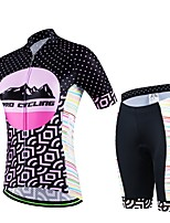 Sports® Cycling Jersey with Shorts Women's / Men's / Unisex Short SleeveBreathable / Quick Dry / Wearable / Compression / 3D Pad /