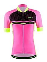 Deportes® Maillot de Ciclismo Mujer / Unisex Mangas cortasTranspirable / Secado rápido / Permeabilidad a la humeda / Bolsillo trasero /