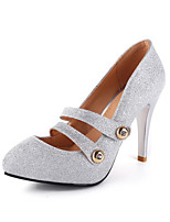 Women's Heels Spring / Summer / Fall Comfort Glitter Office & Career / Party &  Casual Stiletto Heel OthersRed / Silver