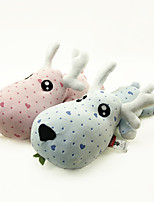 Two Cute Deer Car Furnishing Articles Doll Built-in Bamboo Charcoal Package Can Eliminate Peculiar Smell