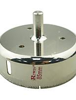 agujeros de cristal de acero de aleación herramienta REWIN agujero abridor de tamaño 85mm-2pcs / box