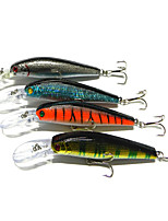 12.5cm 14g /PC Lures Bait Minnow Lure Diving Bionic Bait Lures Bait Fishing bait 4PC/Set