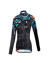 Sports® Cycling Jacket Women's Long SleeveBreathable / Quick Dry / Windproof / Anatomic Design / Ultraviolet Resistant / Dust Proof /