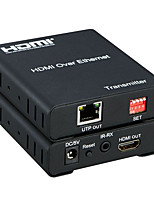 New 120Meter HDMI Matrix Extender over IP Support Multipoint to Multipoint  IR control 1080P One Pair with IR Cables
