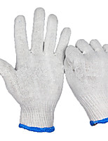 Shipping Repair Wear Thick White Cotton Work Gloves Protection 10 pairs selling