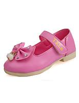 Розовый / Красный / Белый-Для девочек-На каждый день-Полиуретан-На плоской подошве-Удобная обувь / С круглым носком