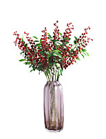 Hi-Q 1Pc Decorative Flower Blueberry Fruit Wedding Home Table Decoration Artificial Flowers