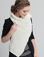 Alyzee Women Wool Blend ScarfFashionable Jewelry-B7024