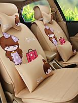 дамы моды мультфильм автомобиля подушки сиденья подушки сиденья белье комфорт девушки