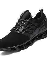 Running Shoes Unisex Sneakers Spring / Fall Comfort PU Casual Flat Heel  Black / Green / Red Sneaker