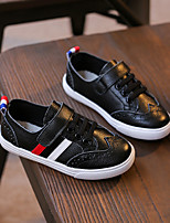 Boy's Flats Spring / Summer / Fall Flats Leather Outdoor / Casual Flat Heel Others Black / White Walking
