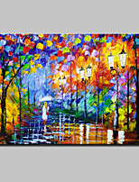 Hand Painted Abstract Landscape Oil Paintings On Canvas For Home Decoration With Stretched Frame Ready To Hang