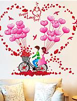 Botanique / Romance / Nature morte Stickers muraux Stickers avion / Stickers muraux 3D Stickers muraux décoratifs,PVC MatérielAmovible /