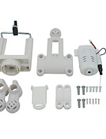 SYMA / WLToys / YiZhan X600 / X400 / X6 / X5C / X5SW / H8C / V262 / V353 / V666 RC Camera/Video RC Quadcopters White ABS