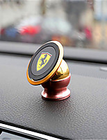Automobile Magnetic Bracket 360 Degree Rotating Magnetic Navigation Mobile Phone Aluminum Alloy Support