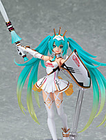 Cosplay Hatsune Miku PVC 14cm Anime Action Figures Model Toys Doll Toy Figma SP-060