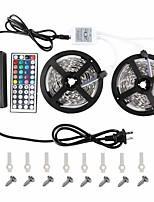 KWB ha portato strip5050 2 * 5m striscia principale lightsrgb strisce led kit di illuminazione 44 chiave remote12v 6a