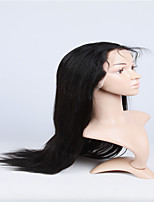 16-26 Inch 10A straight Brazilian virgin hair lace front wigs human hair wig for fashion women