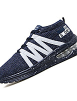 Men's Sneakers Spring / Summer / Fall / Winter Mary Jane / Comfort Athletic  / Lace-up Black / Blue / Gray Sneaker