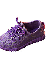 Unisex Sneakers Spring / Fall Comfort PU Casual Flat Heel  Pink / Purple / Gray Sneaker