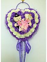 Satin / Eco-friendly Material Wedding Decorations-1Piece/Set Spring / Summer / Fall / Winter Non-personalizedTea light