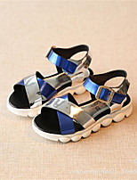 Women's Sandals Summer PVC Casual Flat Heel Others Blue Green Red Others