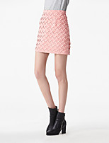 Heart Soul Women's Knee-length Skirt-OW15-1206