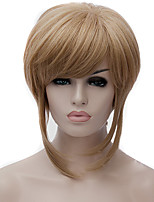 Cosplay Wigs Golden Anime Wigs False Personality Short Wig 12 Inch