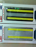 The New Ultra-Thin Waterproof COB Daytime Running Lights