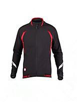 Sports® Cycling Jacket Men's Long Sleeve Thermal / Warm / Windproof / Comfortable Bike Windbreakers Fleece Classic Fall/Autumn