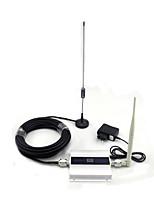 900MHz сигнала GSM бустер 2g повторитель сигнала мобильного телефона с антенной полного набора / мини / ЖК-дисплеем