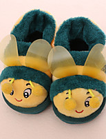 Unisex Slippers & Flip-Flops Winter Comfort / Round Toe Fleece Casual Flat Heel Animal Print  Others