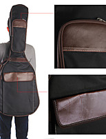 Guitar Carry Bag Case Holder Padded PU Leather w/ Cotton for 39/40/41inch Guitar