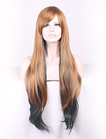 European And American Fashion Female Long Hair High Temperature Wire COS Wig