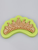 Fashionable jewelry mold elegant crown shaped wholesale silicone soap molds
