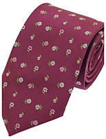 Men Wedding Party Polyester Silk Necktie Tie