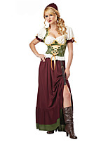 Costumes Déguisements thème film & TV Halloween Blanc / Rouge vin Mosaïque Térylène Robe / Plus d'accessoires