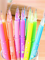 12 шт 12 цвет гелевая ручка