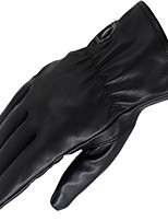 PU Warm Gloves Men'S Business Gloves Riding Motorcycle Outdoor