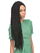 Box Tresses Tresses Twist Extensions de cheveux 12-22 Kanekalon 12 Brin 85-120 gramme Braids Hair