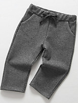 Girl's Solid PantsCotton Spring / Fall Gray