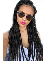 Box Braids / Crochet Twist Braids Hair Extensions 24Inch Kanekalon 12 Strand 90g gram Hair Braids