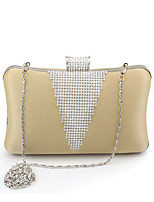 L.west Women Elegant High-grade Diamonds Evening Bag