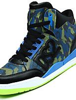 Masculino-Tênis-Conforto-Salto Baixo-Azul / Vermelho / Branco-Couro Ecológico-Ar-Livre / Casual / Para Esporte